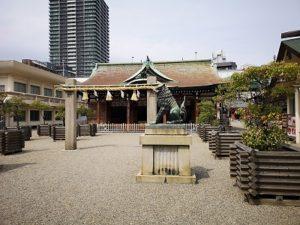 Ground of a shrine.