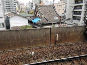 Roof of Imamiya Ebisu Shrine